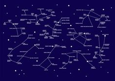 Constellations entre la grande ourse et cassiope latoilescoute constellation diagram showing the connections between artists in the constellations display at tate liverpool ccuart Gallery