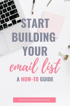 Wondering when to start an email list or why you need one? This tutorial walks you through email list building in a simple step-by-step process. Small Business Marketing, Email Marketing, Online Business, Make Money Blogging, How To Make Money, Freelance Graphic Design, Blog Writing, Email List, Business Entrepreneur