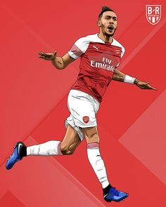 Arsenal Fc Players, Aubameyang Arsenal, Arsenal Premier League, Arsenal Football, Football Images, Football Gif, Football Pictures, Football Players, Arsenal Wallpapers
