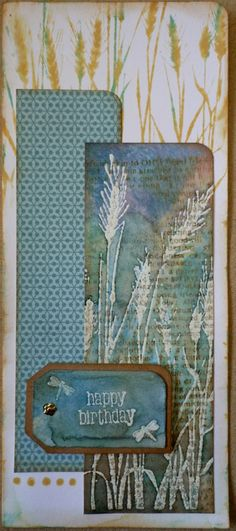 HA Wheat. Watercolor?  ---by swanlady21 * Janet, via Flickr