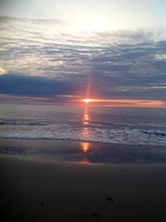 Sunrise at Nags Head, N. Carolina  my favorite place......I love the ocean
