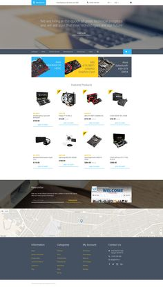 Computer Parts OpenCart Template http://www.templatemonster.com/opencart-templates/hardware-opencart-template-58174.html