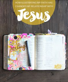Could be done as a Couple Activity: Illustrating My Faith Has Changed My Relationship With Jesus