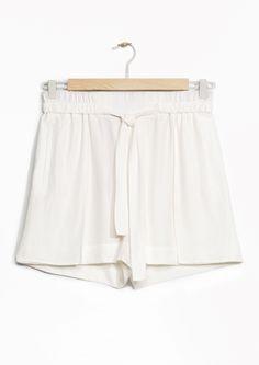 & Other Stories | Tie-Waist Shorts
