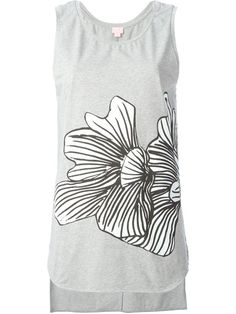 Shop Giamba printed tank top  in Hayashi from the world's best independent boutiques at farfetch.com. Shop 300 boutiques at one address.