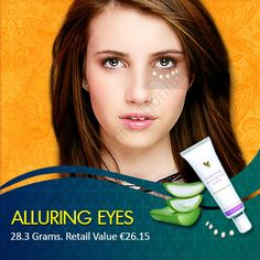 Alluring Eyes  To remove the fine lines around your eyes, Alluring Eyes should be used. It is also able to remove wrinkles, dark circles and treats tired looking skin.