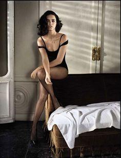 Model Adriana Lima, photographer Vincent Peters for Vogue, Italia, February 2011