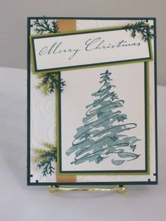 Merry Christmas by stampinupconsultan - Cards and Paper Crafts at Splitcoaststampers