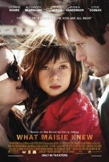 Drama:The story of Maisie, the daughter of a divorcing couple consisting of a mother in a band and with a taste for drugs and alcohol and a full time art businessman. Neither of which have much time for her. Both parents find new partners whom they entrust Maisie to. This is the story of all of this affects the little girl. Really a good drama.