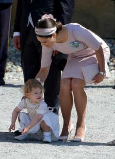 How cute is Princess Estelle of Sweden!?