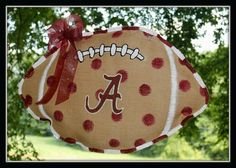 Custom Made to Order Shabby Chic Alabama Roll Tide by DixieBurlap