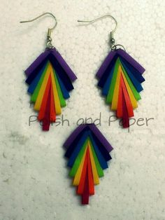 Handmade paper quilled jewellery