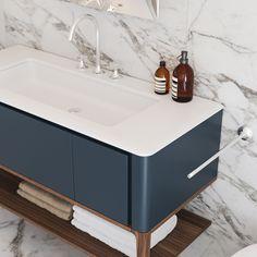 Modern Home Decor Bathroom Bathroom Colors, Bathroom Inspiration, Bathroom Sink Vanity, Public Restroom Design, Vanity, Bathroom Inspiration Modern, Bathroom Toilets, Bathroom Interior Design, Bathroom Decor