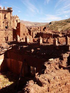 Telouet kasbah, Morocco.
