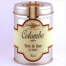 Colombo, Le Colombo, comme le curry en Inde est un mélange d' épices indissociables de la cuisine des Antilles. Comme lui il aromatise aussi bien les viandes que les poissons et les légumes