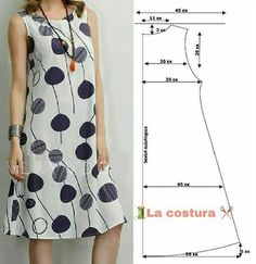 Платье Fashion Sewing, Diy Fashion, Fashion Dresses, Sewing Patterns Free, Clothing Patterns, Fashion Patterns, Sewing Clothes, Diy Clothes, Dress Making Patterns