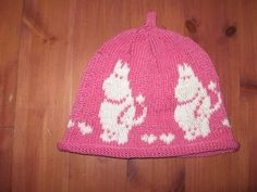 Knitted Hat, Knit Crochet, Tove Jansson, Hobbies And Crafts, Caps Hats, Baby Knitting, Knits, Knitting Patterns, Projects To Try