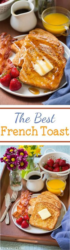 #French Toast / Recipe / French Toast, Toast and French