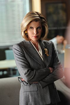 Christine Baranski.... Learned a lot watching her in 'The Good Wife'!