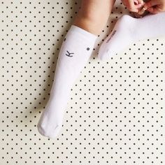'Lamby' Knee High Socks