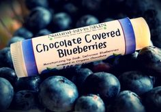 ORGANIC Blueberry Chocolate Chapstick - lip balm  | natural-ish-is - Earth Friendly on ArtFire