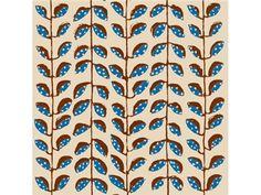 Seacloth AUTUMN BEAN CHINA BLUE SC10026.516 - Lee Jofa New - New York, NY, SC10026.516,Lee Jofa,Print,0018,Blue,Up The Bolt,Botanical/Foliage,Upholstery,USA,Yes,Seacloth,AUTUMN BEAN CHINA BLUE