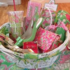 Lilly Easter Basket :)