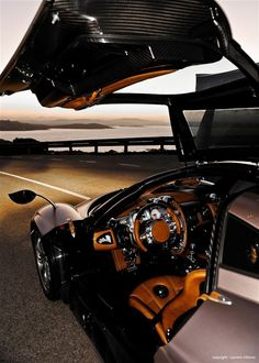 Pagani Huayra - One of the most luxurious interiors I've ever laid eyes on.