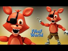 FNaF World ★ Adventure Foxy Tutorial - Porcelana fria ★ Polymer clay ★ Plastilina (REUPLOAD) - YouTube