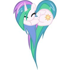 Celestia ❤ liked on Polyvore featuring my little pony, fillers, extra, mlp and kawaii