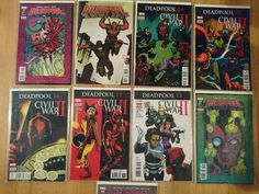 Deadpool  World's Greatest: Volume 5: Civil War II Enhanced (9 Comics)