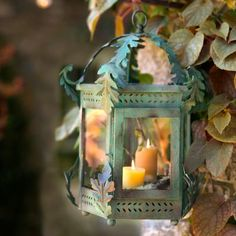 Shop terrain for stylish lanterns in iron, brass, mercury glass, and more. Illuminate your home and garden with solar lanterns and flameless candles. Candle Lanterns, Candle Sconces, Hurricane Lanterns, Garden Lanterns, Flameless Candles, Autumn Home, Autumn Girl, Autumn Garden, Belle Photo