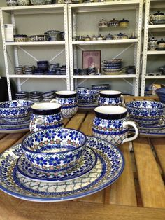More Polish Pottery, LLC        Chicago Area Destination for Polish Pottery Stoneware in Big Rock, Illinois paterns and shapes