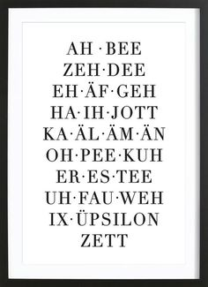 ABC of owl cut as a poster in a wooden frame Buy online on JUNIQE now! The Words, Whatsapp Wallpaper, Learn German, Good To Know, Decir No, Quotations, Texts, Lyrics, Funny Quotes