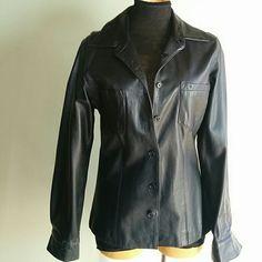 Gap leather jacket Button up,2front pockets GAP Jackets & Coats