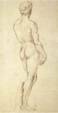 Sketch Drawing: Contrapposto