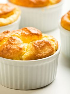 Twice-Baked Gruyere Potato Souffle