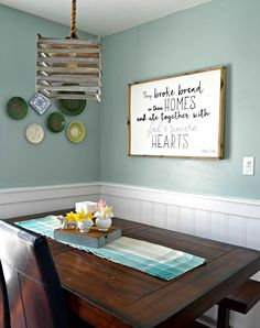 Diy framed wood sign tutorial great for filling in a blank wall how to make a wood sign with a custom quote and wood frame solutioingenieria Choice Image