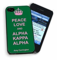 alpha kappa alpha paraphernalia | ... Alpha Kappa Alpha Merchandise & Gifts // Peace Love & Alpha Kappa