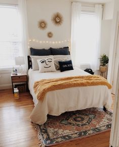 Most Popular Apartment Bedroom Design Ideas For Teenagers 17 - elliahome Cute Bedroom Ideas, Cute Room Decor, Room Ideas Bedroom, Home Bedroom, Bedroom Decor, Bedrooms, Bedroom Inspo, Teen Bedroom, Bedroom Designs