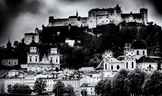 Salzburg... - Old town of Salzburg Austria...