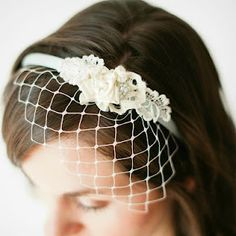 Vintage Alice in Wonderland inspired birdcage headband -- Bee-Inspired Blog