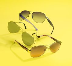 WOW Factor: Stylish sunnies. #rayban #ralph #coach #sunglasses BUY NOW!