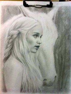 "♥""game of thrones"" pencil sketch♥ツ"