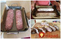 Bez vajec, strúhanky a drží perfektne: Geniálna plnená rolka z mletého mäska, slaná aj bez zrnka soli!