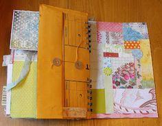 Creative Addiction to Paper: Junk Journal. Created by Tonya Wilson aka Mscraftyt