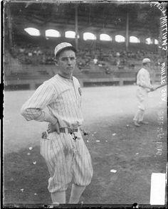 """Claude """"Lefty"""" Williams in 1916"""