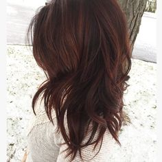 Wintry hair vibes for this wintry day! #haircolor #wintrymix #holidays