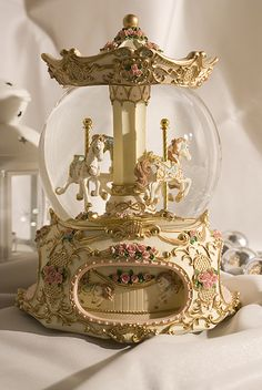 Victorian Carousel | Jewel | Flickr Gold Aesthetic, Classy Aesthetic, Aesthetic Vintage, Belle Aesthetic, Water Globes, Princess Aesthetic, Fancy, Creative, Pretty