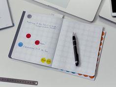 dot on #notes - Das #Notizbuch für alles, was man in 2D zu Papier bringen kann und sollte   #klebepunkte #Illustrationen #Tagebuch #diy #doton #diary #madeingermany #notizbuch
